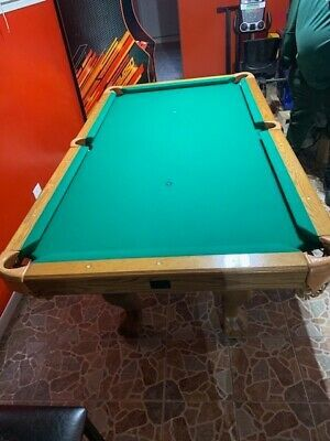 Advertisement Ebay Pool Table With Sticks 10ft In 2020 Vinyl Table Covers Indoor Games Snooker Table