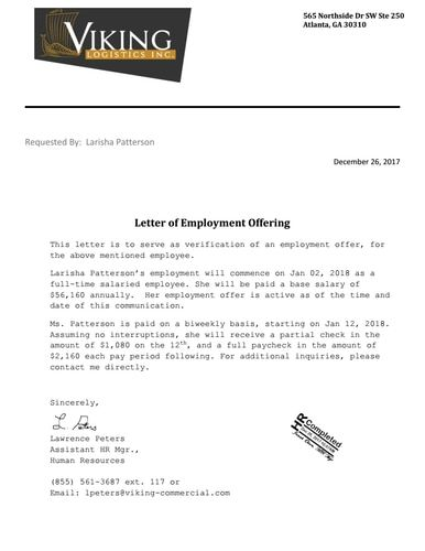Notarized Letter Of Employment from i.pinimg.com