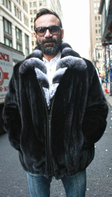 Shop for Fur Jackets for men and Fur coats for men. Genuine chinchilla coats, fur coat with hood, mink coats,mink jacket, mink bomber jackets for men &
