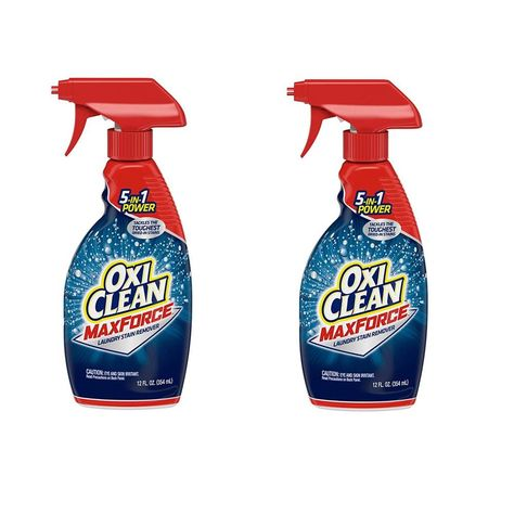 Oxiclean Max Force Laundry Stain Remover Spray 12 Ounce 2 Pack
