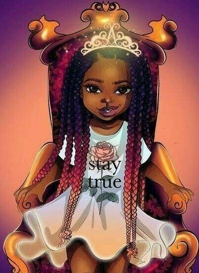 Princess Pinterest Annika Grant Black Girl Art Black Love Art