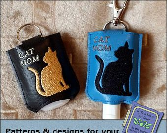 Handmade Hand Sanitizer Holder Etsy Hand Sanitizer Holder