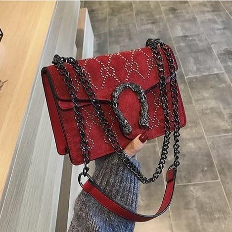 Luxury Handbags Women Bags Designer Vintage Pu Leather Chain Small Crossbody Bagsintothea Womens Crossbody Bag Small Crossbody Bag Leather Chain