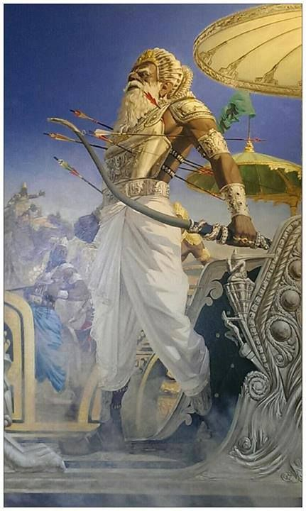 10 Best Bhishma Pitamaha Devavrata Gangaputra Images The Mahabharata Hindu Gods Indian Art