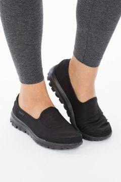 skechers nursing shoes black