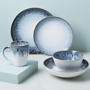 Reactive Stoneware Dinnerware Sets Stoneware Dinnerware Sets Ceramic Dinnerware Set Stoneware Dinnerware
