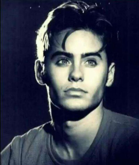 Young Jared Leto in Gray T-Shi. is listed (or ranked) 4 on the list 30 Pictures of Young Jared Leto