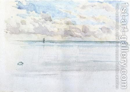 Seascape Dieppe James Abbott Mcneill Whistler Seascape Art Gallery