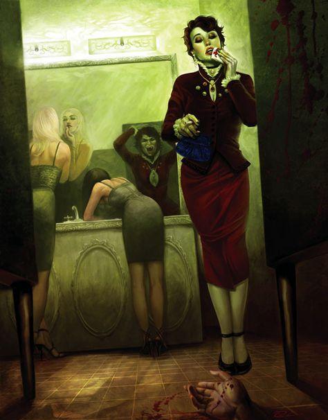 Frances Picture (2d, illustration, vampire, girl, woman)