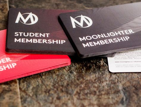 Membership Card  Memberships Can Have Multiple Levels These