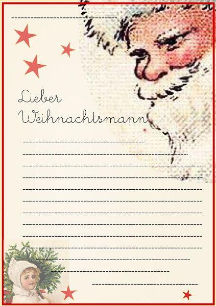 Santa Wish List Template Free Printable Santa Letter