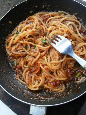 Resep Spaghetti Bolognaise : resep, spaghetti, bolognaise, Resep, Spaghetti, Bolognese, Kitchen, Spageti,, Resep,, Makanan
