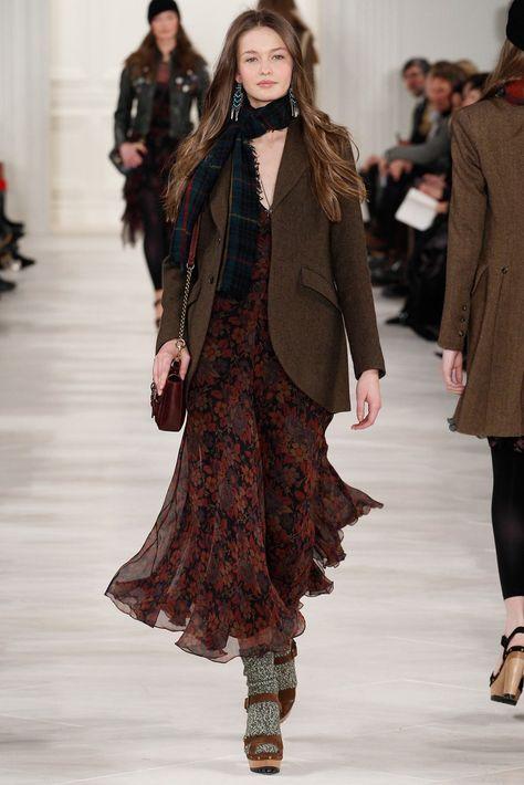 Polo Ralph Lauren Fall - Winter New York Fashion Week