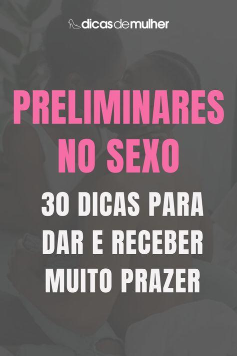 #dicas #sexo #preliminares