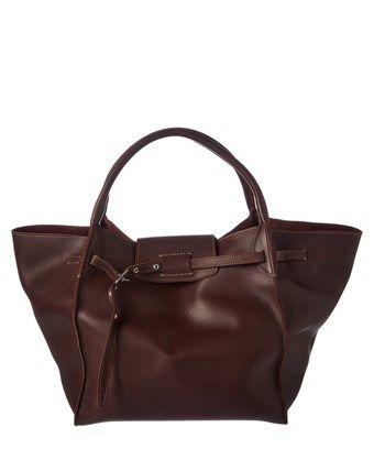 CELINE CELINE MEDIUM BIG LEATHER BAG. #celine #bags #leather #