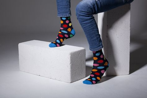 ADD A FUN & FUNKY TOUCH TO EVERY OUTFIT with the Socks n Socks premium menƒ??s cotton dress socks, which are here to dazzle everyone with their colorful design and trendy patterns! COMFORT, LUXURY & STYLE AT YOUR FEET! Our business socks for men are made from 80% Turkish super-soft cotton, 18% nylon and 2% spandex, in order to offer your feet a comfy, snug and perfect fit!?ÿ Make a statement and put your best foot forward! 100% TRENDY STYLE OR YOUR MONEY BACK! Thatƒ??s our unconditional