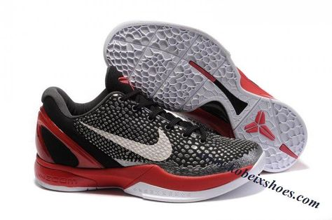 new concept 5d5ef b655e Nike Zoom Kobe 6(VI) Black White Red
