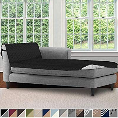 Sofa Shield Original Patent Pending Reversible Sofa Chaise Protector 102x34 Inch Washable Furniture In 2020 Chaise Lounge Slipcover Washable Furniture Chaise Lounge