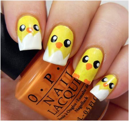 50 Animal Themed Nail Art Designs To Inspire You | 50th, Animal and Easter  nails - 50 Animal Themed Nail Art Designs To Inspire You 50th, Animal And