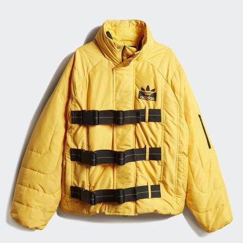 Staple Jacket Gold S Womens | Adidas en 2019 | Jackets