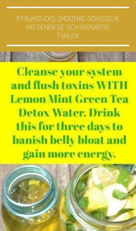 Grüner Tee mit Minze verlieren Gewicht