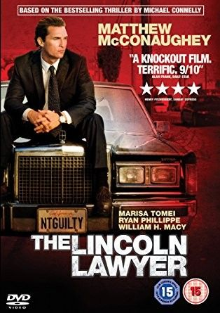 The Lincoln Lawyer Lincoln Lawyer Movie Lover Michael Connelly