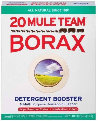 Mule Team Borax All Natural Detergent Booster Multi Purpose Household Cleaner 65 Oz With Images Detergent