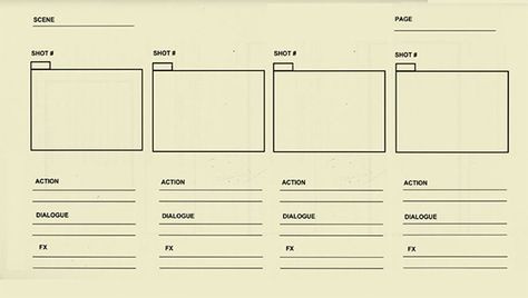 Animation StoryBoard Template - 8+ Free Word, Excel, PDF, PPT - vertical storyboard sample