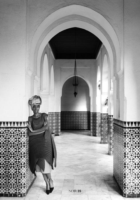 Le magazine noir com. Photography: Mehdi Sefrioni Styling: Sarah Diouf Makeup: Meyloo.
