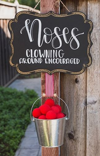 Circus Party: Let's Clown Around with some Circus Party Ideas Circus Party: Let's Clown Around with some Circus Party Ideas. Looking to throw a Circus Party? Be sure to check out our other Circus Party Ideas and Parties… Vintage Circus Party, Circus Carnival Party, Circus Theme Party, Circus Wedding, Carnival Birthday Parties, First Birthday Parties, Birthday Party Themes, First Birthdays, Circus Tents