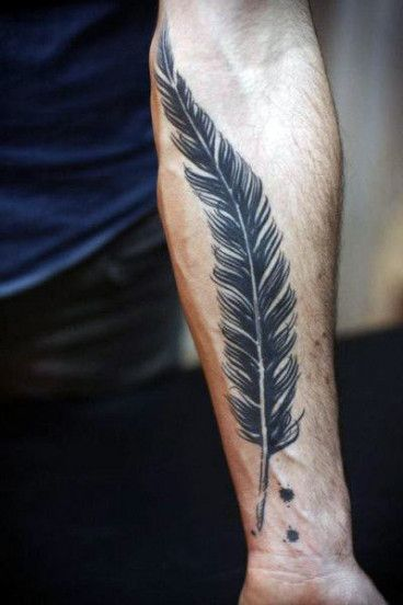 20 Signs Youre In Love With Masculine Wrist Tattoos For Men Masculine Wrist Tattoos For Men Quill Tattoo Feather Tattoo For Men Tattoos For Guys