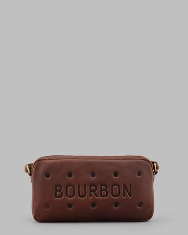 72cb82ad8485 Bourbon Biscuit Leather Cross Body Bag a