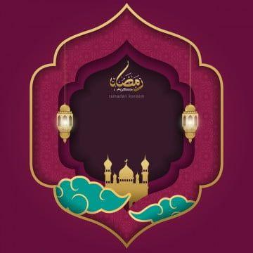 Ramadan Kareem Islamic Greeting Card Template Design Ramadan Kareem Islam Png And Vector With Transparent Background For Free Download Pola Vektor Poster Agama Desain Banner