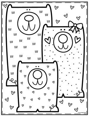 Three Bear Coloring Jpg Coloring Pages For Kids Color Club Coloring Pages