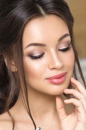 New Natural Wedding Makeup In 2020 Wedding Makeup For Brown Eyes Bridal Makeup Tips Bridal Makeup Natural