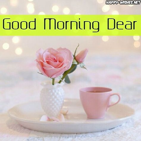 Cute Good Morning Dear Images - Copy