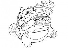 Desenhos Da Lulu 44 Gatos Para Colorir Colorir Gatos Desenhos