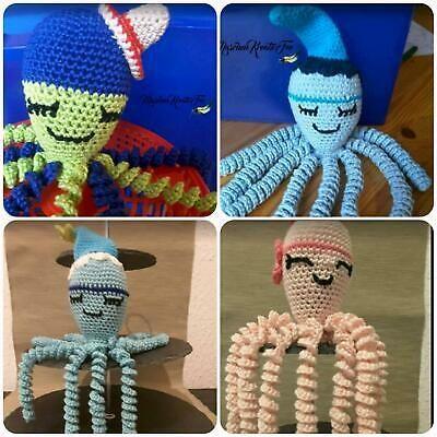 Fruhchen Qualle Krake Octopus Farbwahl Gehakelt Greifling In Baden Wurttemberg Pforzheim Baby Spielzeug Gebraucht Kauf In 2020 Mit Bildern Fruhchen Baby Hakeln Kraken Octopus