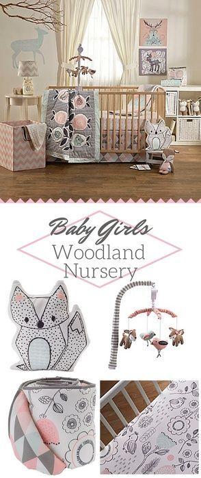S Baby Woodland Nursery Bedding And