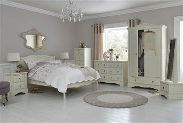 The Isabella Bedroom Range From Next Is Vintage Style And Beauty Personified With An Ivory Painted Finish Bedstead Available Fr