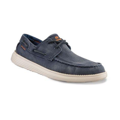 50ec02b23f33 Skechers Relaxed Fit Status Melec Men s Boat Shoes