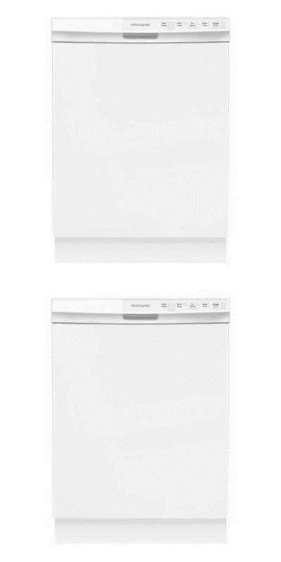 Dishwashers 116023 24 Built In Dishwasher W Hard Food Disposer White Frigidaire Ffbd2412sw Buy It Now Only Dishwasher White Built In Dishwasher Frigidaire