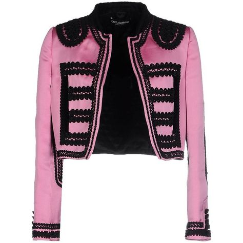 0f76bac6d42 Dolce & Gabbana Blazer (83,020 PHP) ❤ liked on Polyvore featuring outerwear,  jackets, blazers, light purple, velvet jacket, dolce gabbana blazer, single  ...