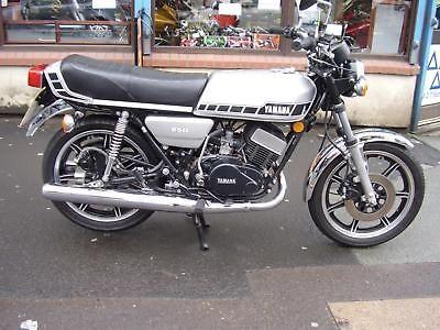 Yamaha Rd250e 1979 Classic Two Stroke Yamaha Custom Bikes Classic