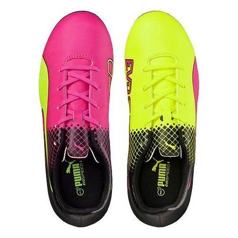 Puma Evospeed 5.5 Tricks FG Football Boots Junior