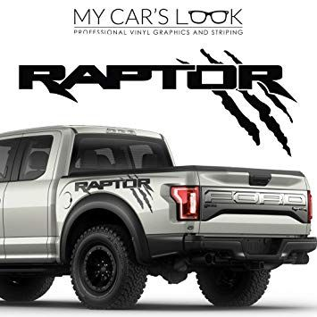Ford Raptor 2017 Exterior Graphics Kit Ford Raptor Ford Ranger Raptor Vinyl Graphics