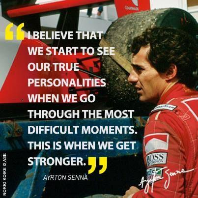 Ayrton Senna Such An Inspiration Racing Quotes Ayrton