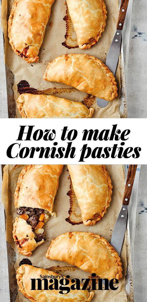 Follow our step-by-step guide to making classic Cornish pasties....