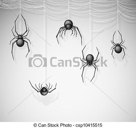 Spiders Dangling From Web Google Search Halloween Doodle Halloween Drawings Spider Clipart