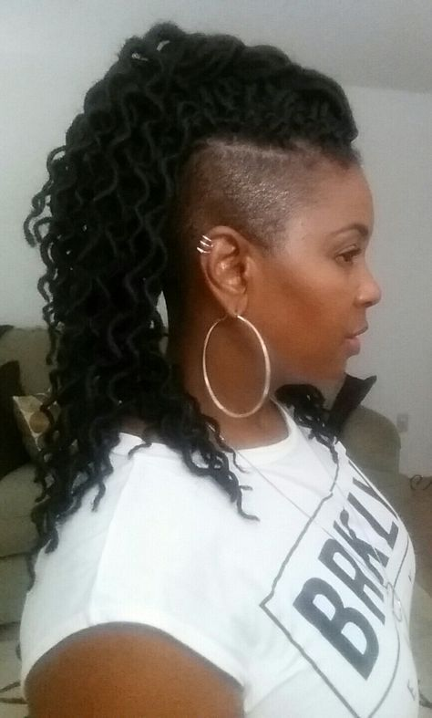 Fun Hairstyles With Box Braids You Can Try Braids With Shaved Sides